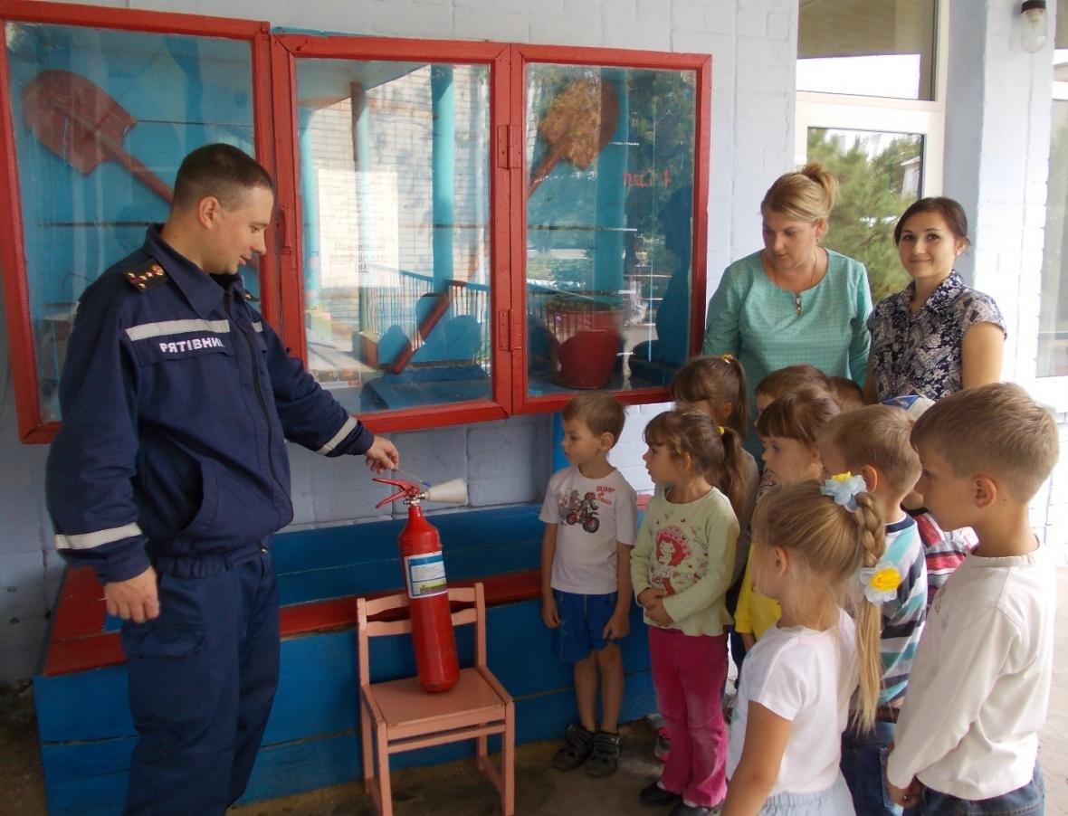 Рятувальники розповідають дітям правила безпеки життєдіяльності, фото-2