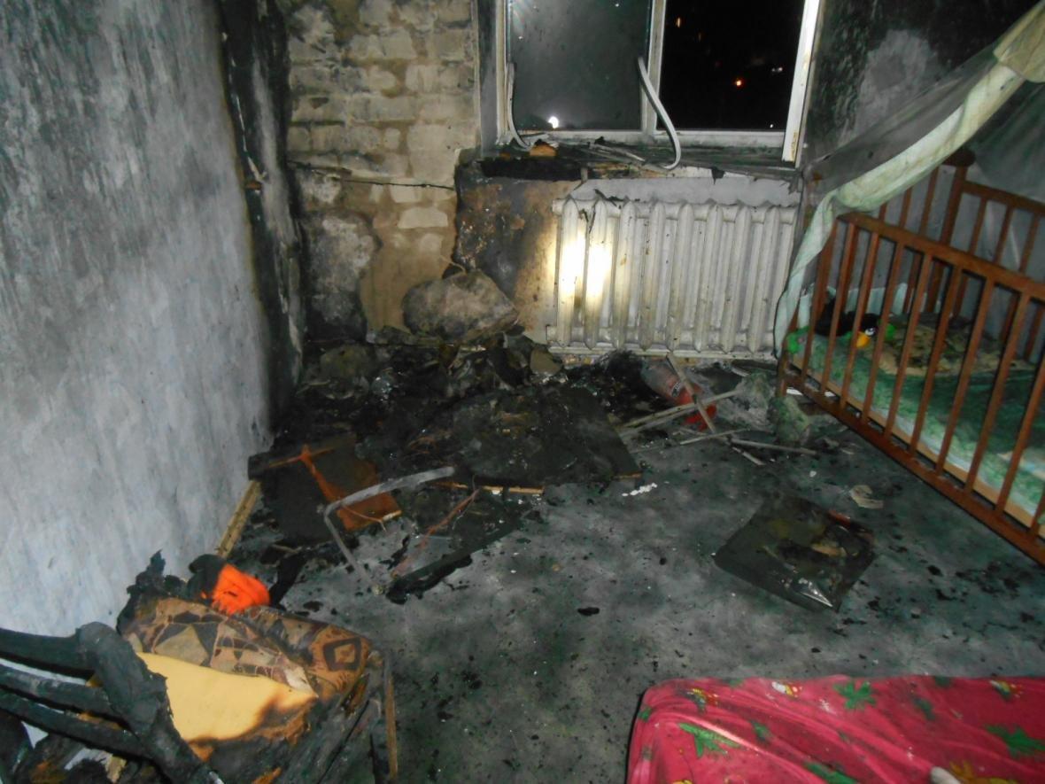 Пожежа тарпилася у багатоповерхівці Нової Каховки, фото-1