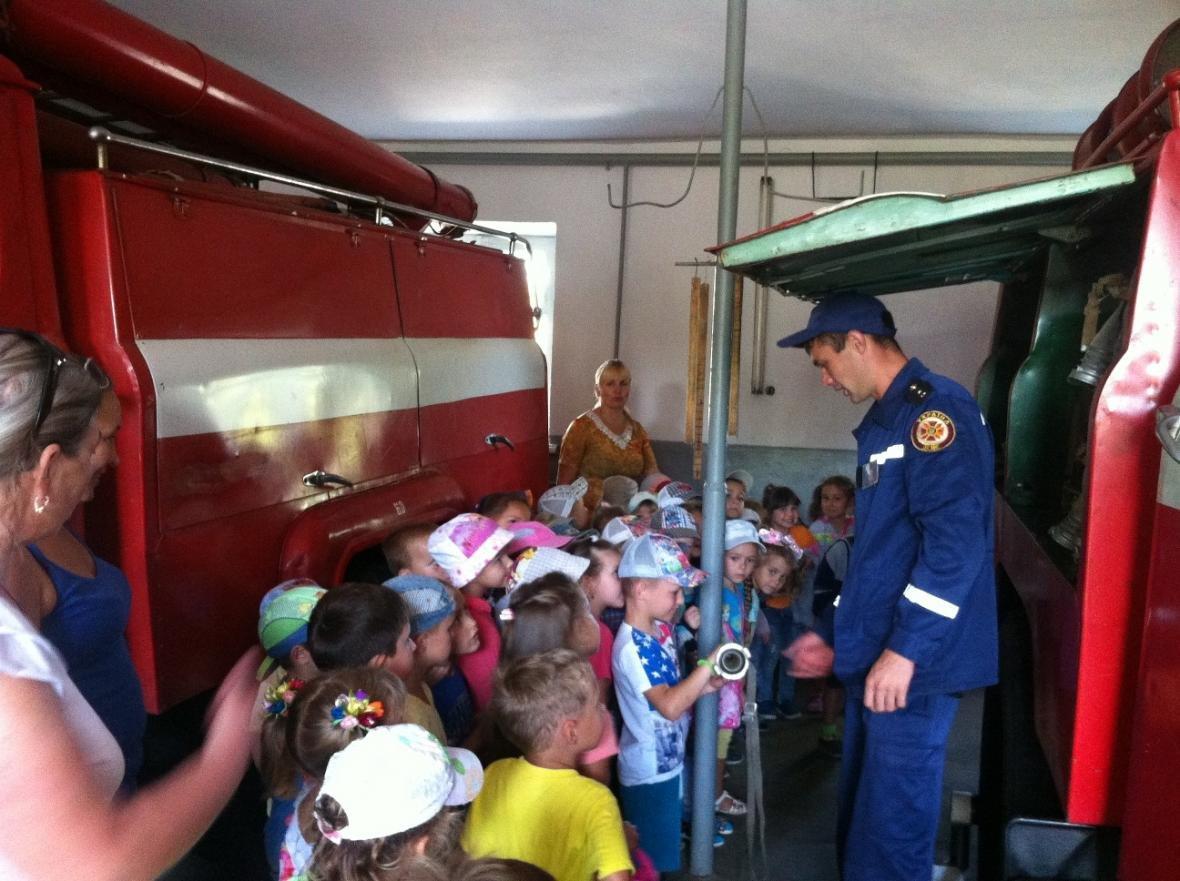 Рятувальники розповідають дітям правила безпеки життєдіяльності, фото-1