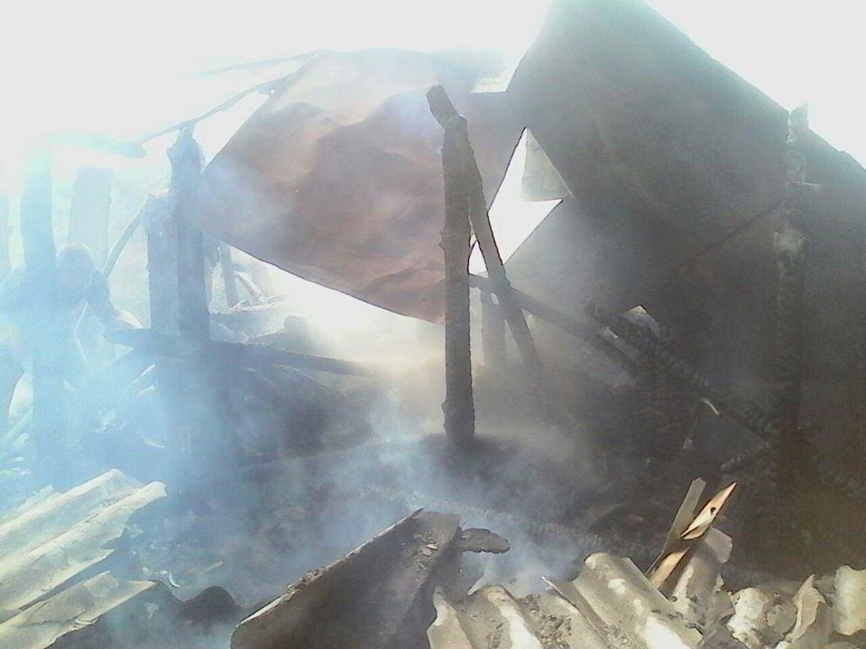 На Херсонщині пожежні гасили будинок, фото-1