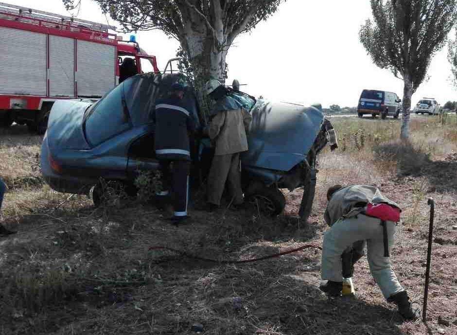 Рятувальники вилучали тіла загиблих у ДТП на Херсонщині, фото-1