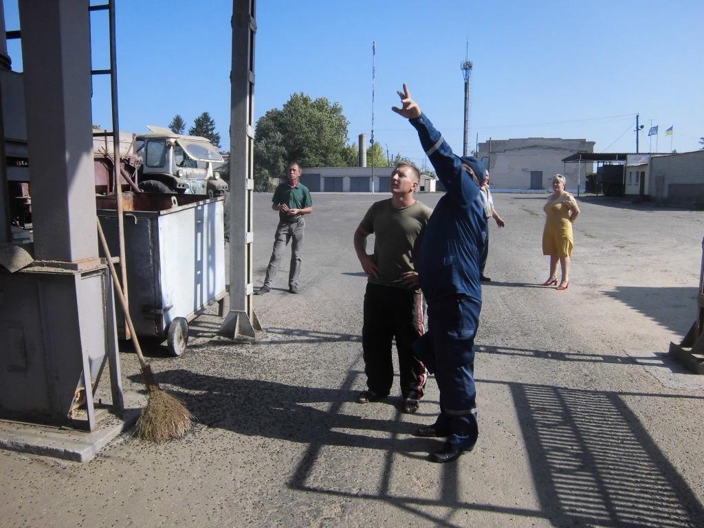 Горностаївські рятувальники взяли участь у тренуванні у ТОВ «Райагрохім», фото-1