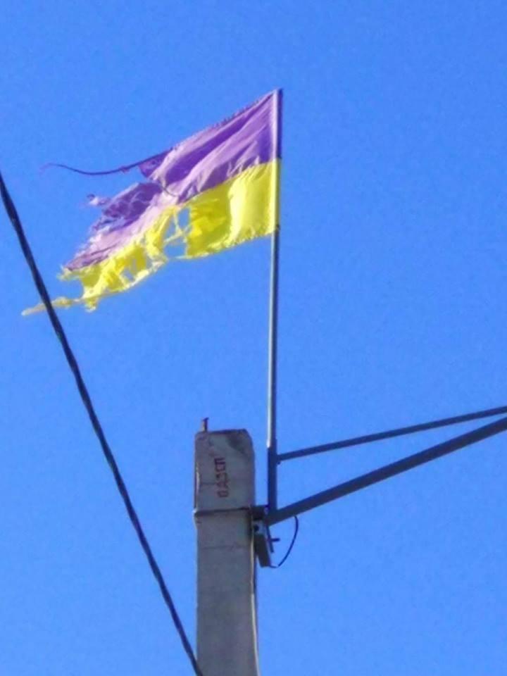 На Херсонщине не уважают государственные символы?, фото-1