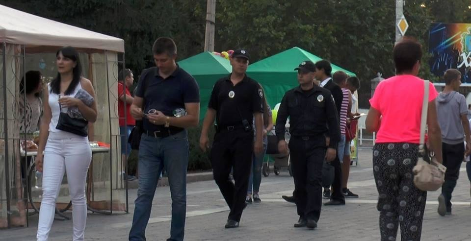 Під час святкування 239-ї річниці заснування міста Херсона порушень публічного порядку не допущено, фото-1