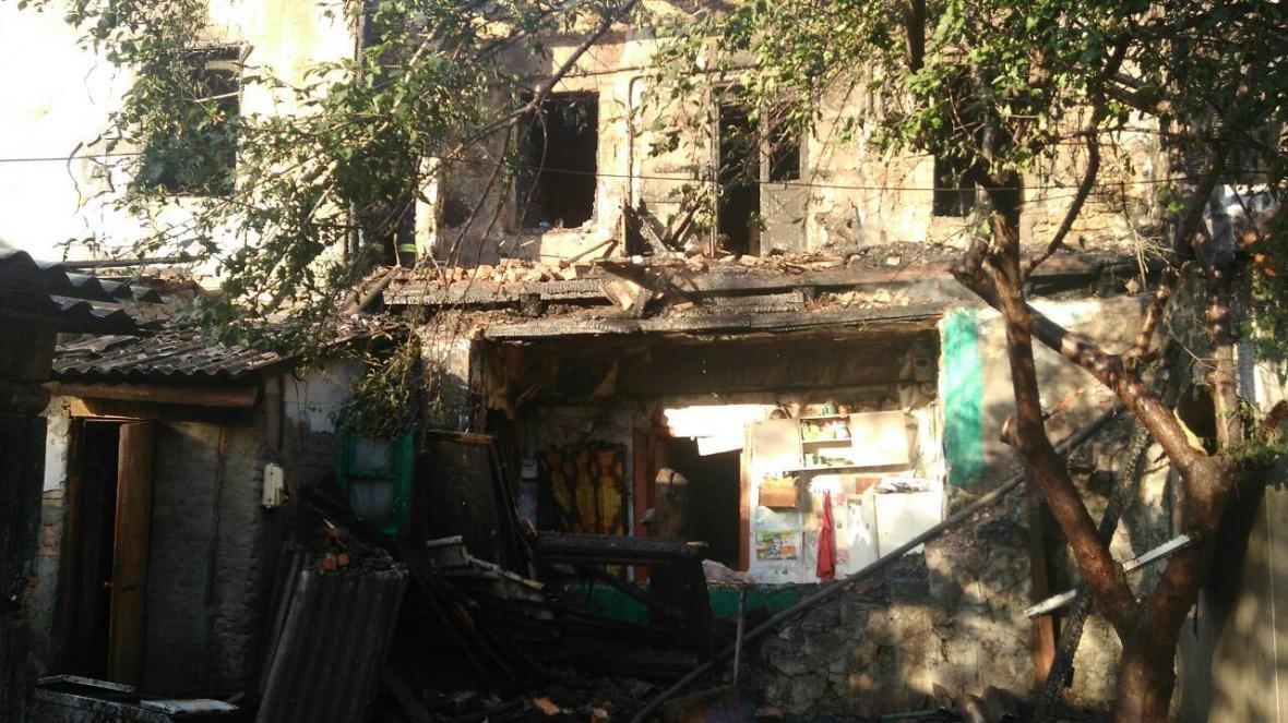 Подробности ужасного пожара в Херсоне, фото-1
