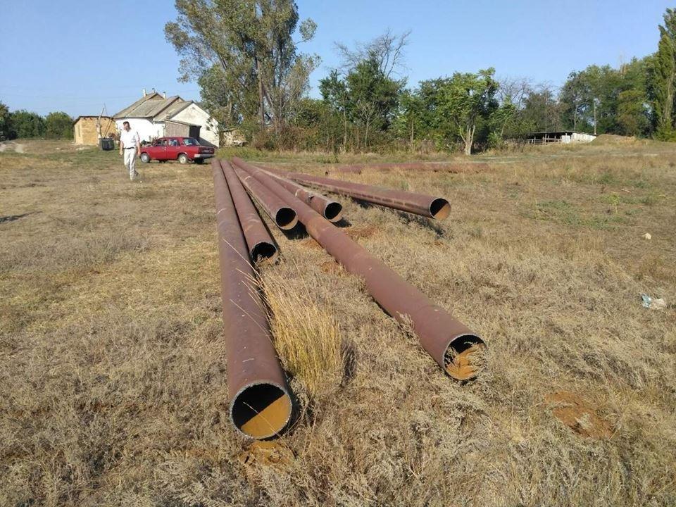 На Херсонщине под видом реконструкции пытались украсть часть канализационного коллектора, фото-2