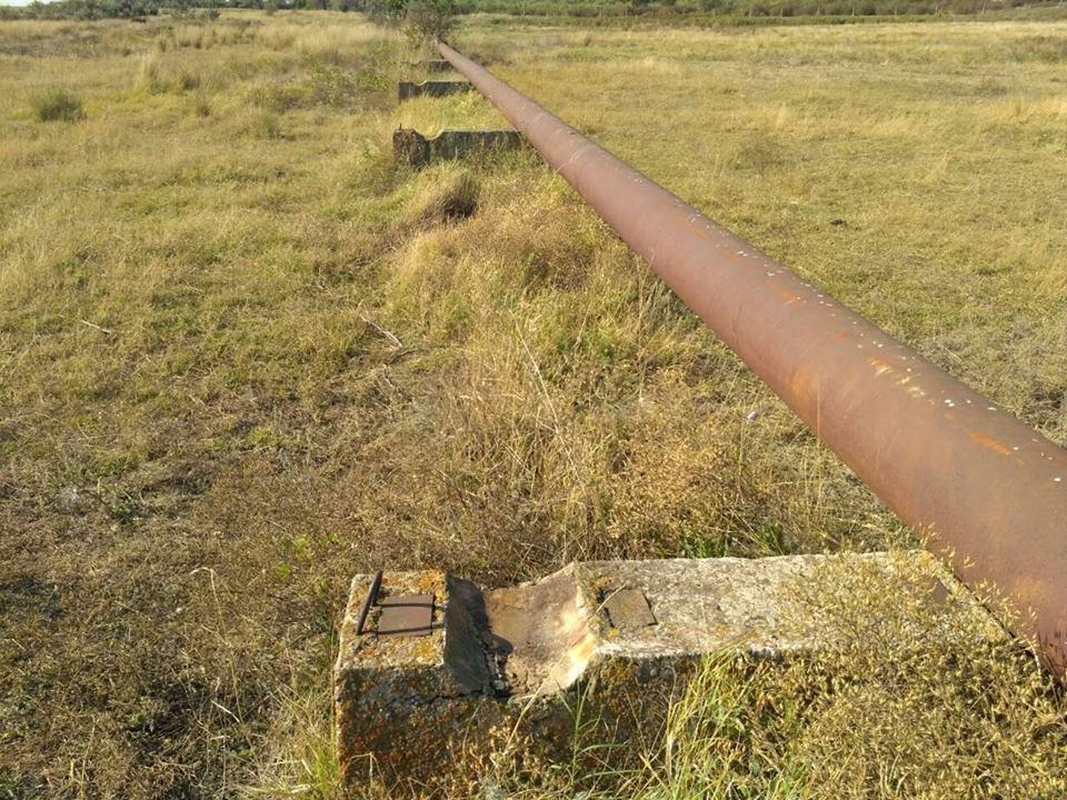На Херсонщине под видом реконструкции пытались украсть часть канализационного коллектора, фото-1