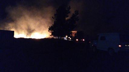 Ночью в Херсонской области случился пожар, фото-1