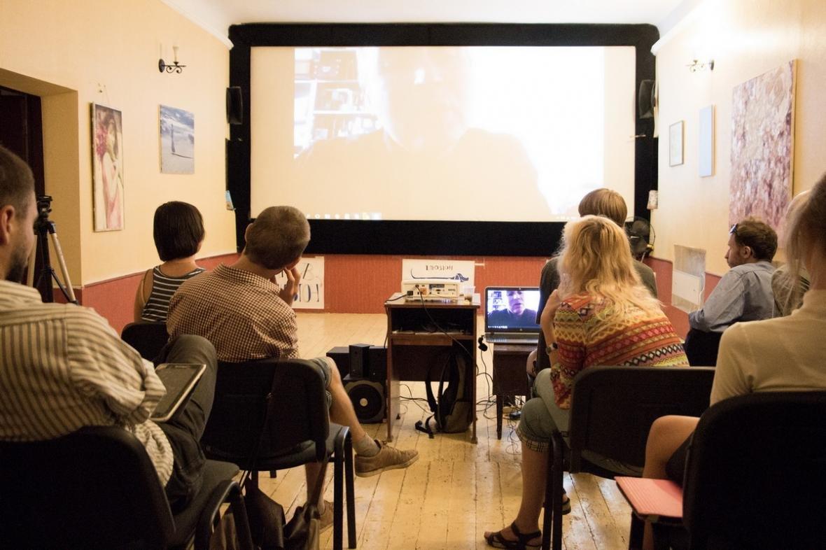 Херсонцы общались с одним из кураторов Каннского кинофестиваля, фото-1