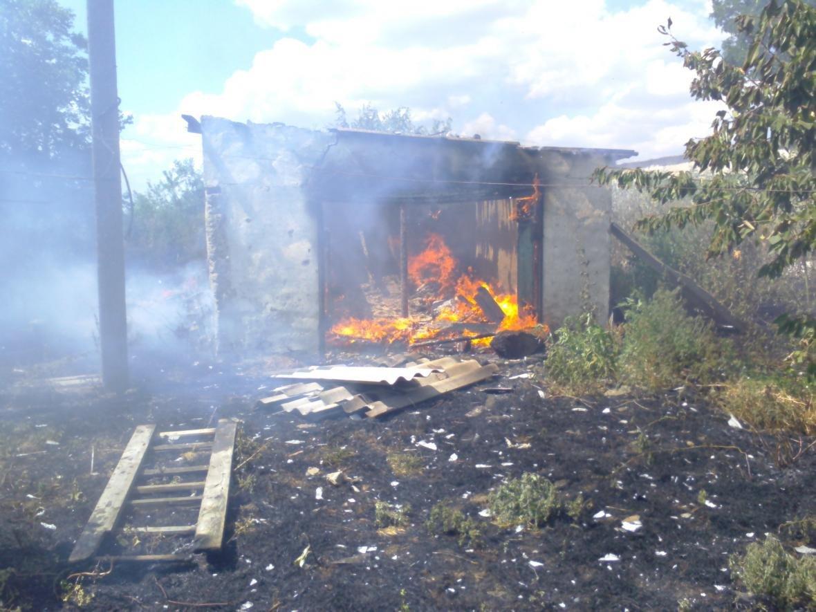 Голопристанські вогнеборці загасили пожежу, фото-1