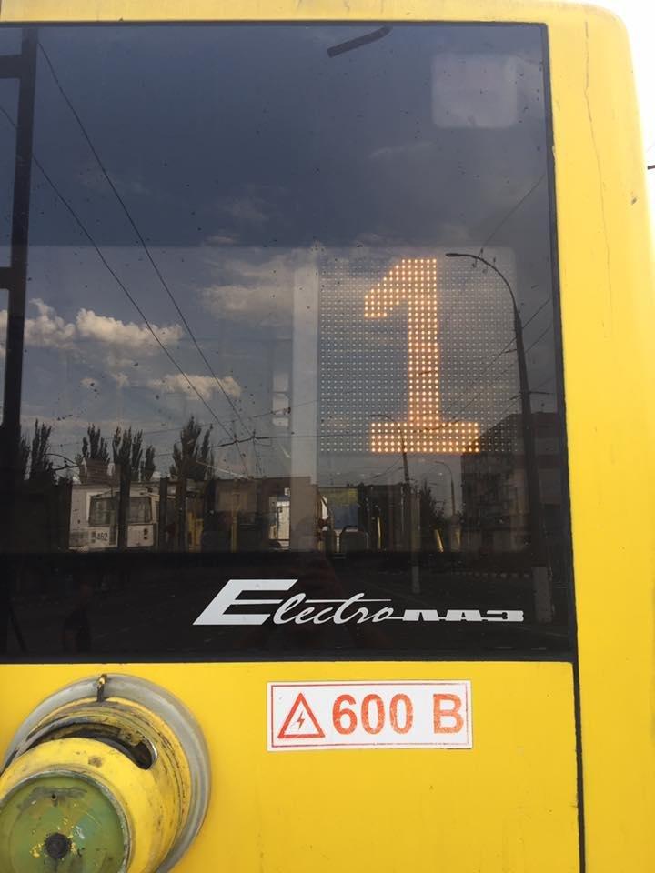 Сегодня Херсон увидит первые обновленные троллейбусы, фото-2
