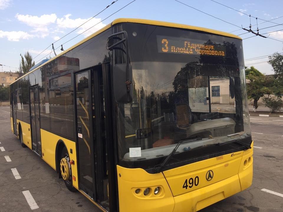 Сегодня Херсон увидит первые обновленные троллейбусы, фото-1