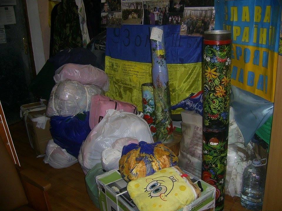 Херсонские активисты отправили гуманитарную помощь военнослужащим Украины, фото-1