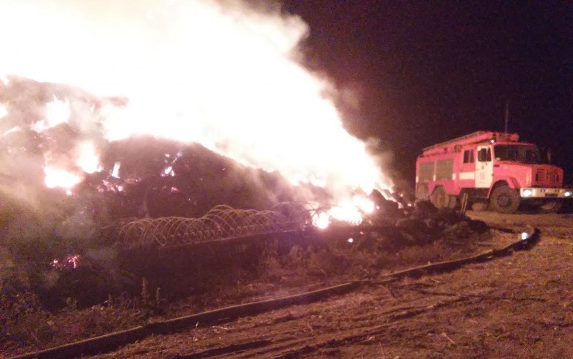 Новотроїцькі вогнеборці ліквідували пожежу , фото-1