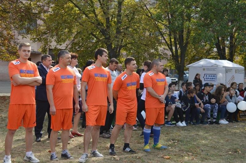 Херсонська юстиція зі студентами в футбол грала і про «Я МАЮ ПРАВО!» розповідала, фото-2