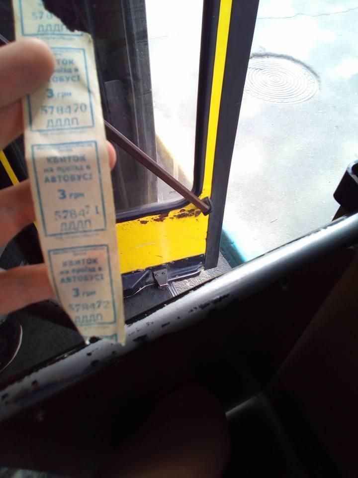 Херсонский перевозчик нарушает правила перевозки пассажиров, фото-1