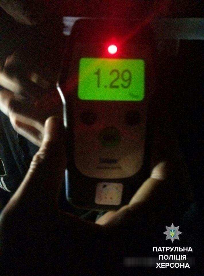 Патрульні склали адмінматеріали на нетверезого водія, який вчинив ДТП , фото-1