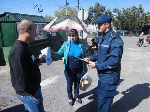 Рятівники Херсонщини проводили профілактичні бесіди з населенням, фото-1