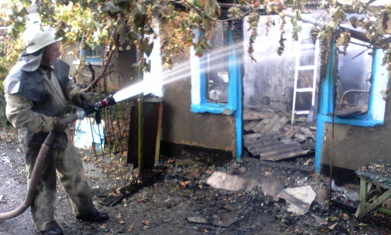 Вогнеборці ліквідували пожежу на Херсонщині, фото-1