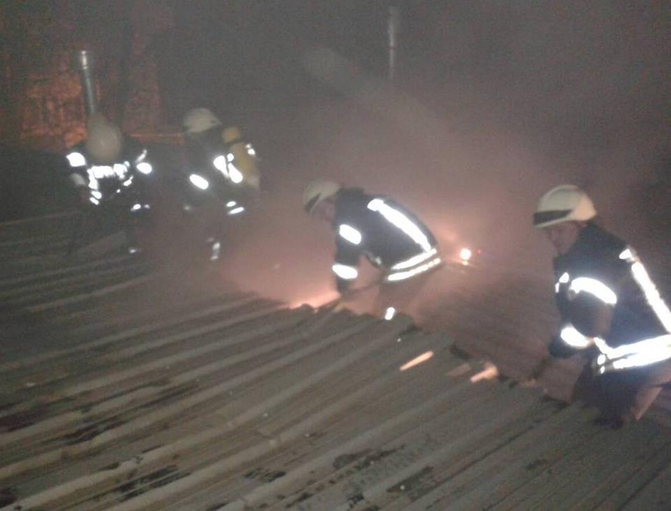 У центрі Херсона рятувальники загасили пожежу , фото-1