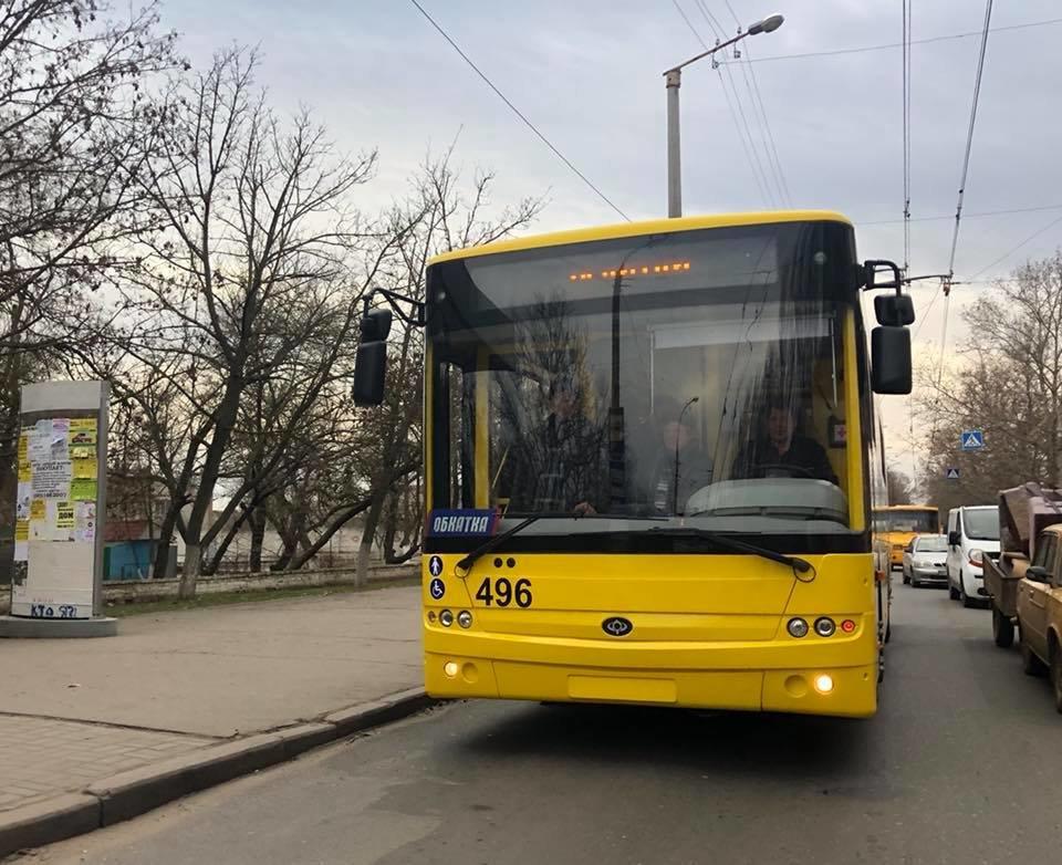 Новые троллейбусы можно будет увидеть на улицах Херсона в понедельник, фото-1