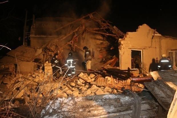 Во взорвавшемся на Херсонщине доме находилась женщина и двое детей, фото-1
