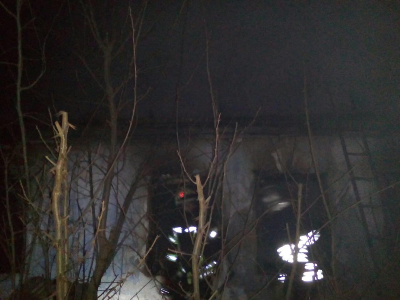 У с.Садове Білозерського району ліквідували пожежу в будинку і магазині, фото-1