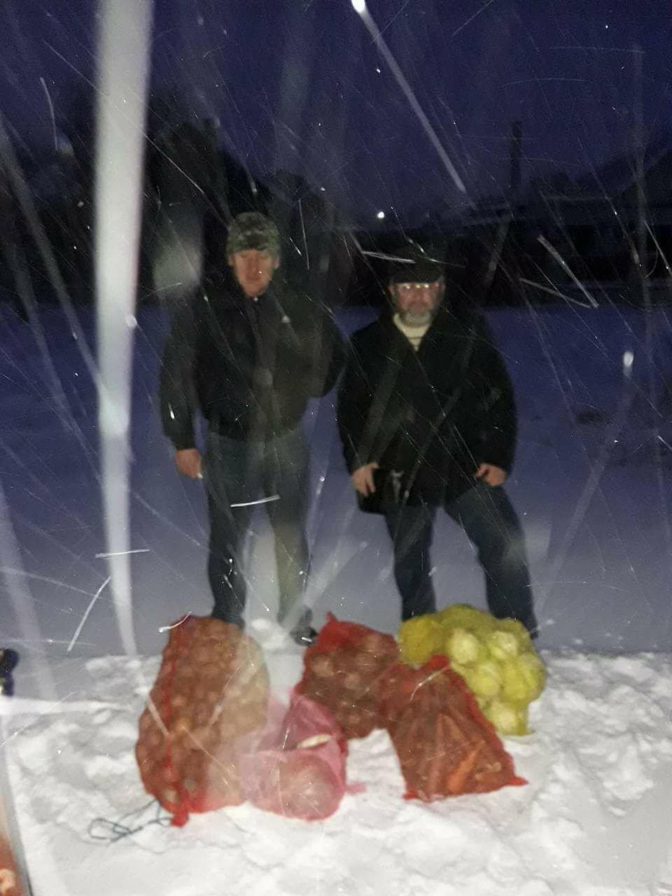 Школьники из Херсонщины собрали для волонтеров овощи на сухпайки, фото-1