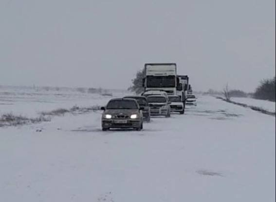 Ситуація на автошляхах області перебуває на контролі керівництва поліції Херсонщини , фото-1