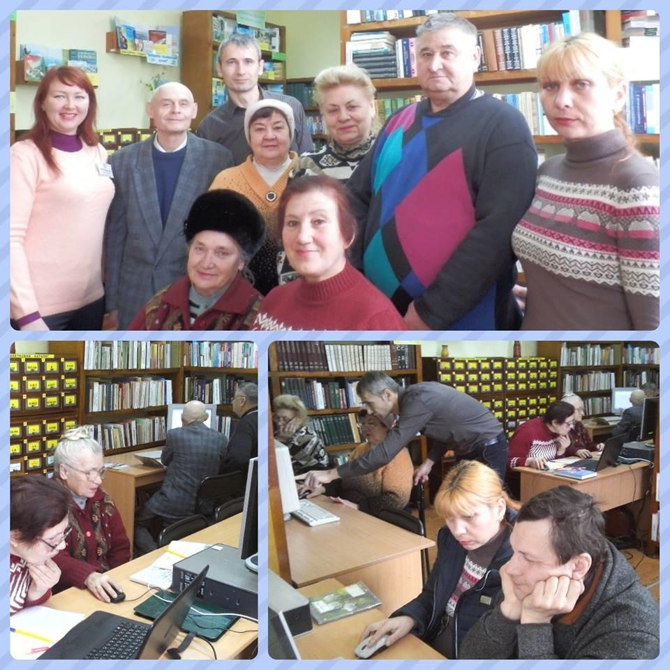 Херсонських пенсіонерів продовжують навчати користуватися комп'ютером., фото-1