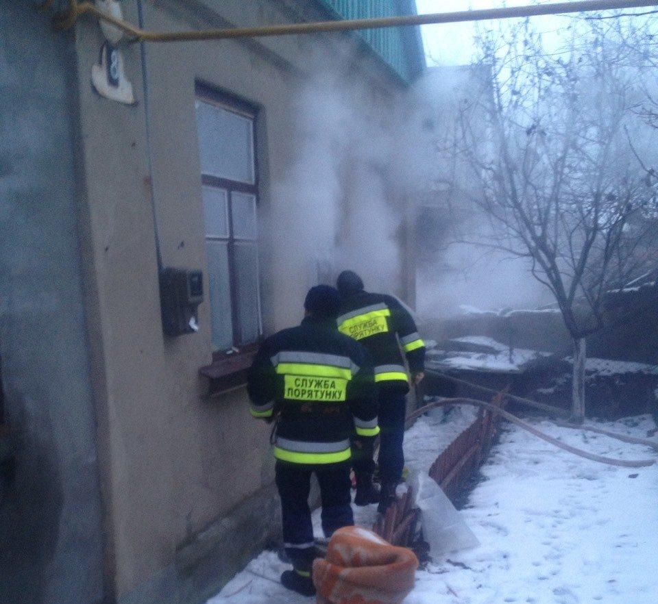 У Херсоні ліквідовано пожежу у житловому будинку, фото-1