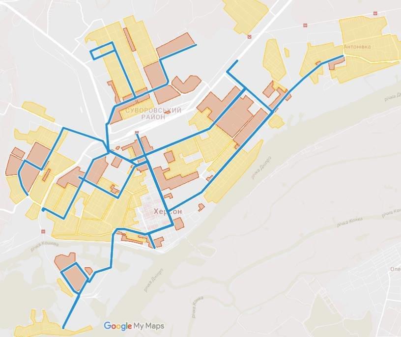 Херсонский общественник проводит опрос о транспортной сети города, фото-2