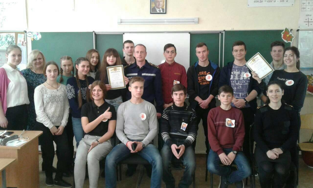 Херсонські рятувальники завітали до школи, фото-1
