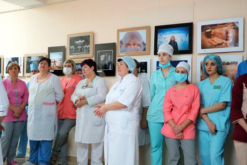 """Виставка фотоклубу """"Парус"""" відбулась у Херсонському онкодиспансері, фото-2"""