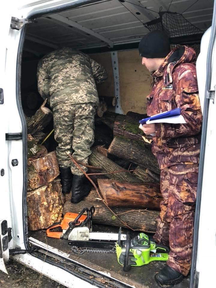На Херсонщине активисты задержали очередных лесных браконьеров, фото-1