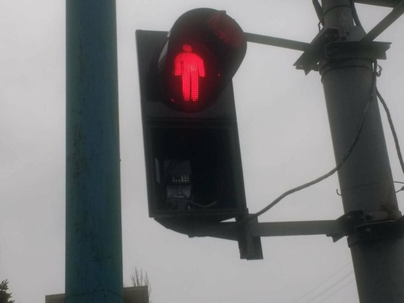 В Херсоне проблема со светофорами, фото-1
