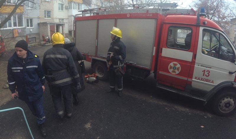 Каховські рятувальники черговий раз допомогли населенню, фото-1