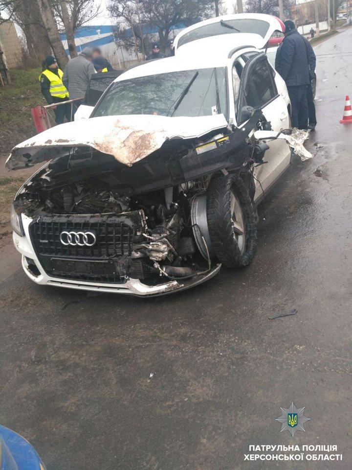 Стали известны подробности аварии в Херсоне, фото-1