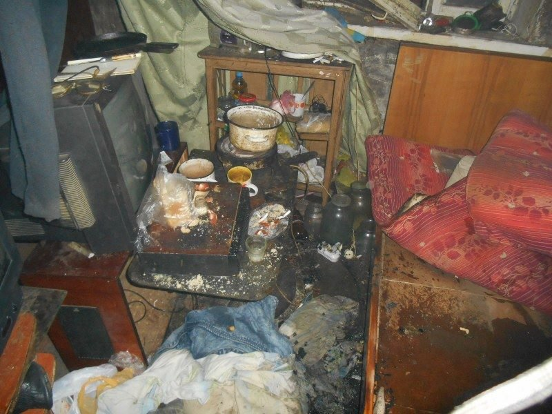 Пожежа у Новій Каховці, фото-1