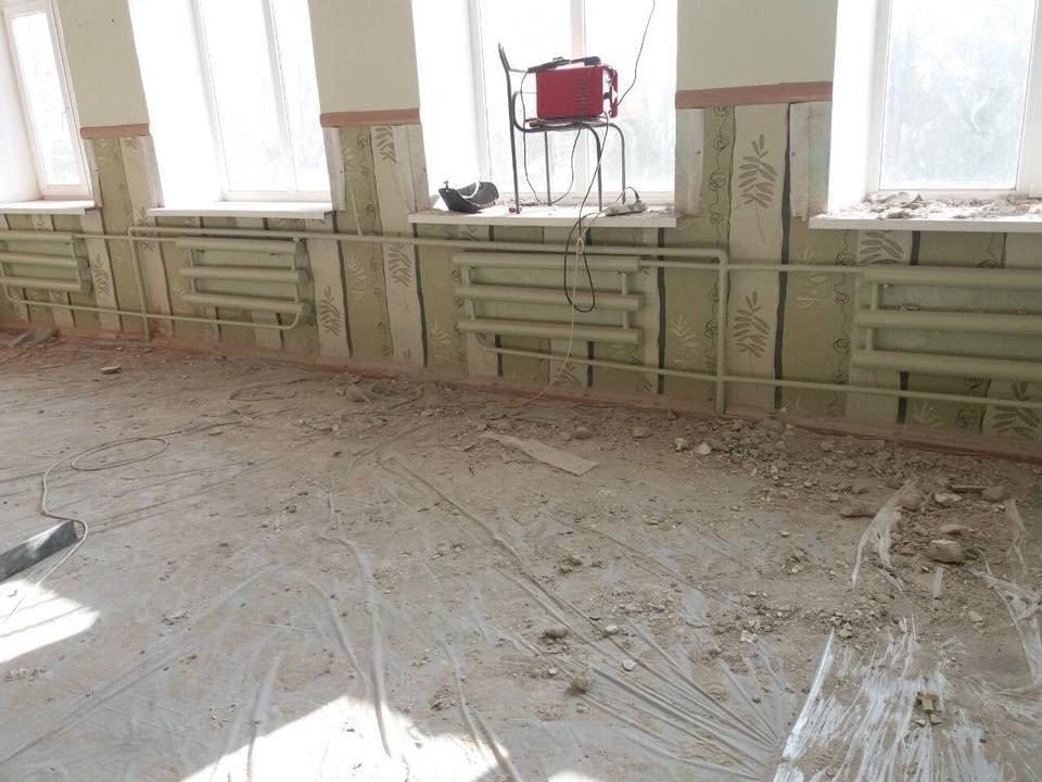 На Херсонщине ремонт школы не помеха учебному процессу (фото), фото-1