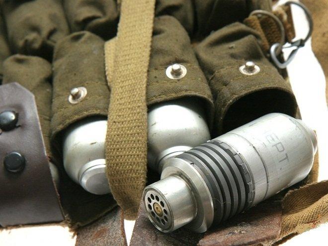 Житель Олешківського району за пляшку спиртного придбав підствольну гранату, фото-1