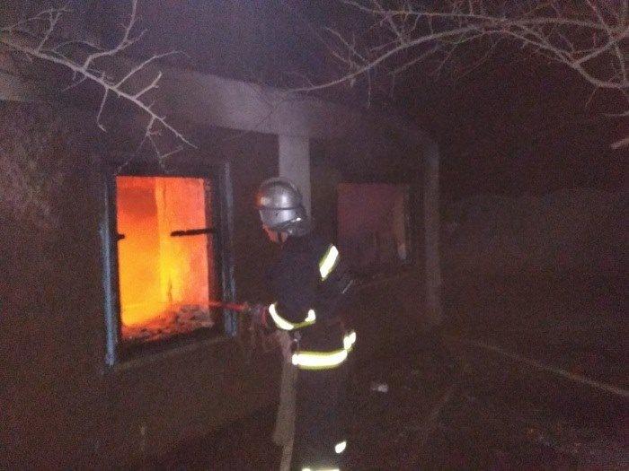 Пожежа на Херсонщині. Є постраждалі, фото-1