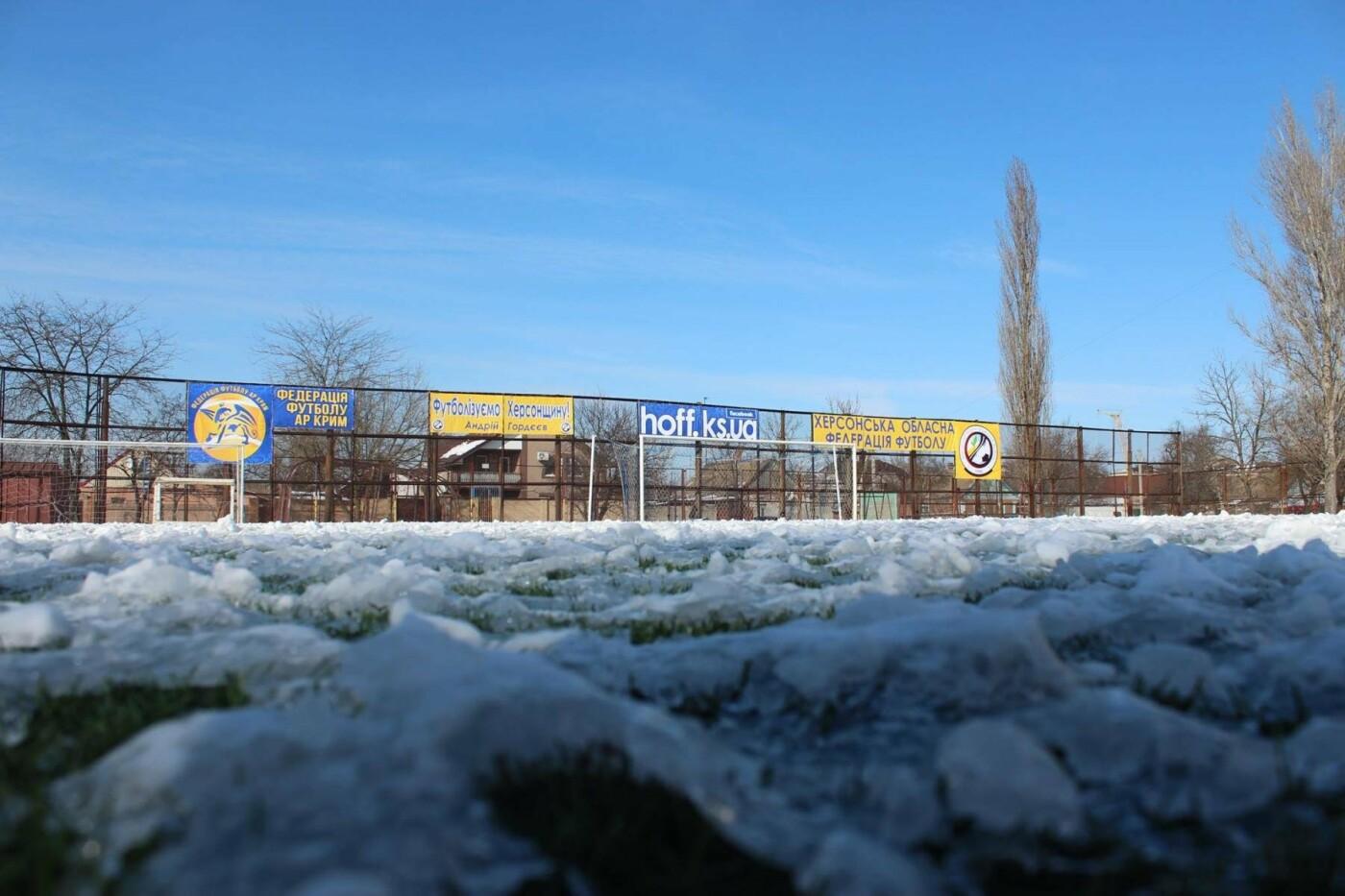 Погодные условия стали причиной переноса футбольного турнира в Херсоне , фото-1
