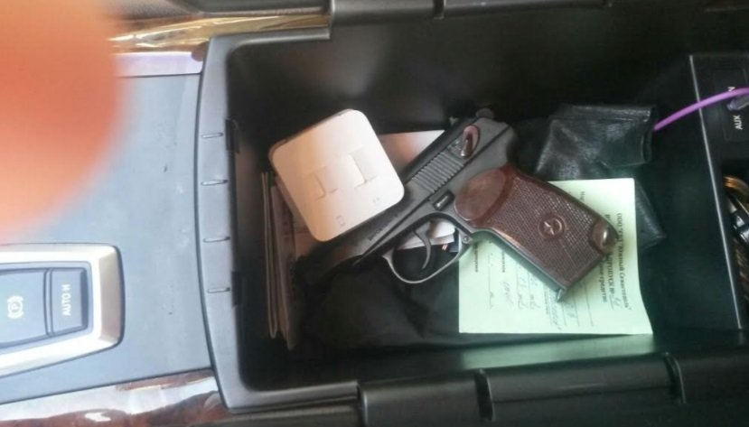 В КПВВ «Каланчак» прикордонники виявили пістолет та набої, фото-1
