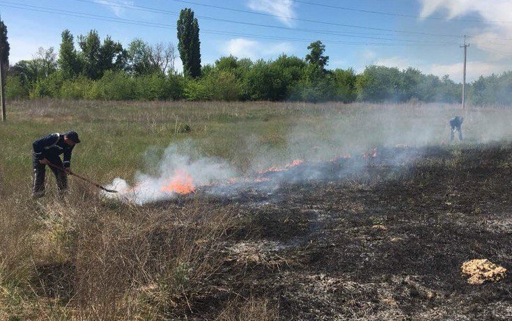Рятувальники загасили пожежу у Старій Збур'ївці, фото-1