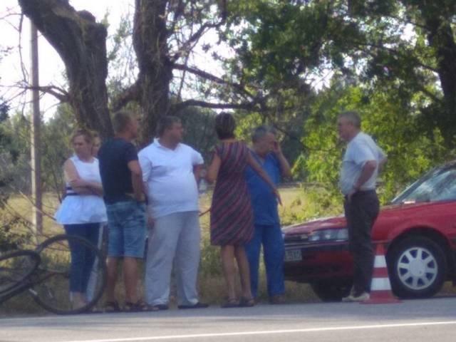 В Херсонской области очередное ДТП. Есть пострадавшие , фото-1