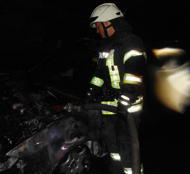 У Херсоні рятувальники ліквідували займання в іномарці  , фото-1