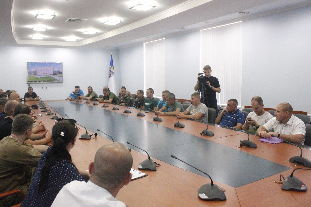 На Херсонщині створять асоціацію учасників бойових дій на сході України, фото-1