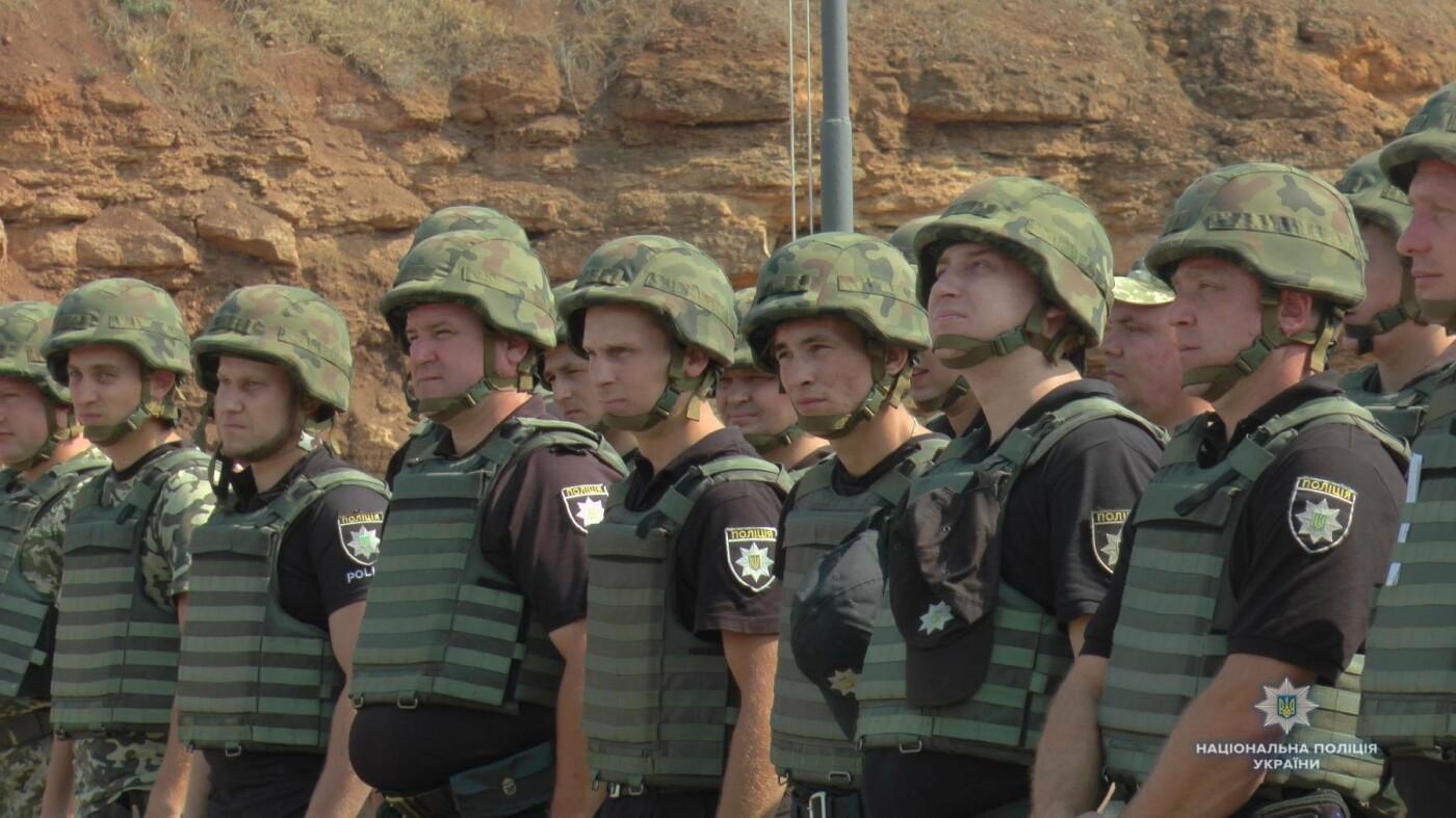 На стрілецькому полігоні поліції Херсонщини відбулися перші навчання, фото-1