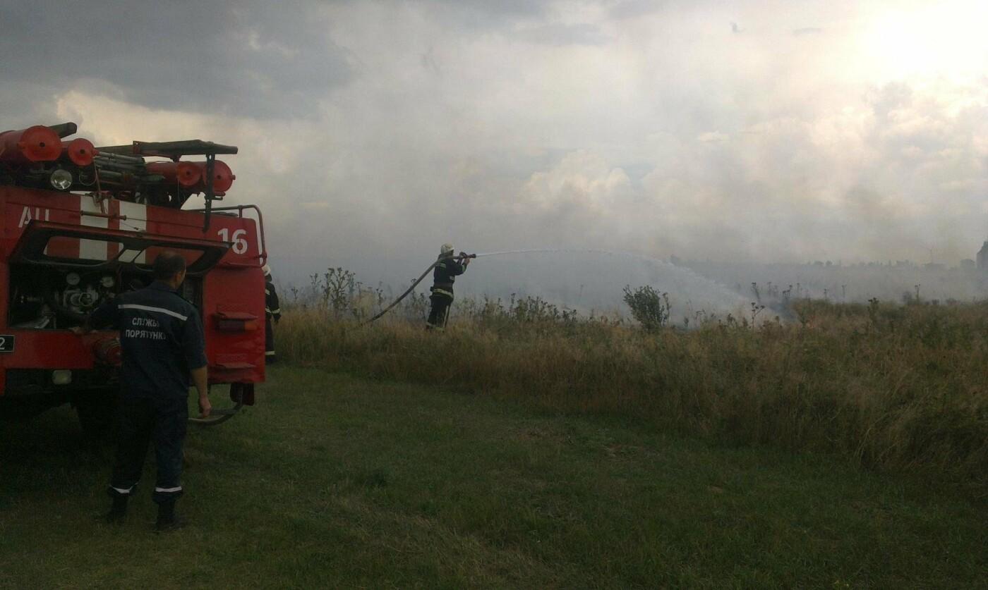 Чергова пожежа на Херсонщині, фото-1
